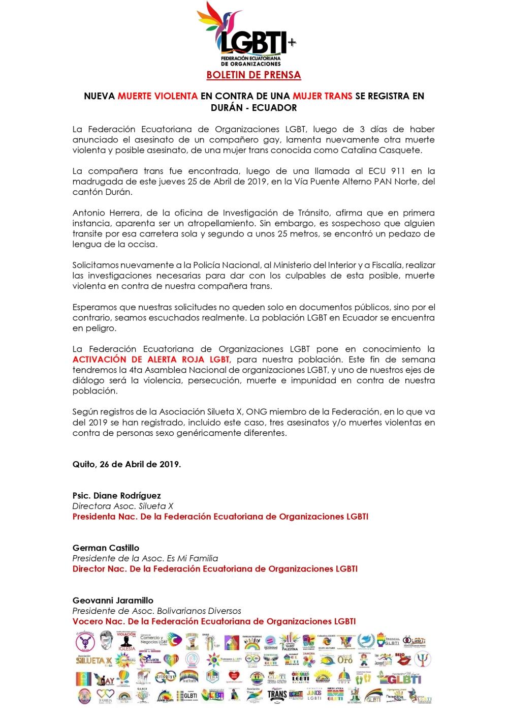 NUEVA-MUERTE-VIOLENTA-EN-CONTRA-DE-UNA-MUJER-TRANS-SE-REGISTRA-EN-DURÁN-ECUADOR-Federación-Ecuatoria