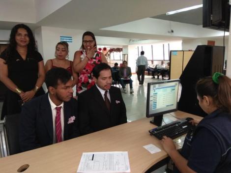 3er matrimono homosexual en Ecuador y el 1ero de hombres gays - Cámara LGBT Comercio Ecuador - Asociación Silueta X 10.jpg