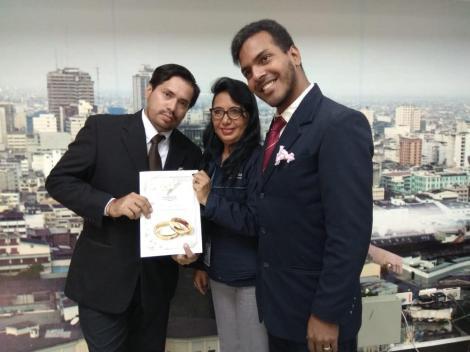 3er matrimono homosexual en Ecuador y el 1ero de hombres gays - Cámara LGBT Comercio Ecuador - Asociación Silueta X 8.jpg