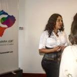Camara LGBT del Ecuador rueda de prensa sobre lanzamiento - CEO Diane Rodriguez (4)
