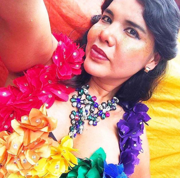 1 Activista trans Diane Marie Rodriguez Zambrano - Ecuador LGBT - transfeminista - Transgénero - MTF Orgullo gay ecuador