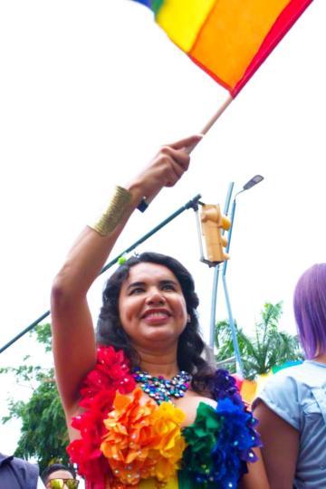 1 Activista trans Diane Marie Rodriguez Zambrano - Ecuador LGBT - transfeminista - Transgénero - MTF Orgullo gay Guayaquil