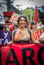 Activista trans Diane Marie Rodriguez Zambrano - Ecuador LGBT - transfeminista - Transgénero - MTF - Feminista