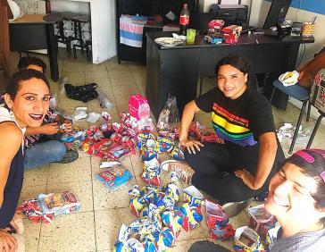 Agasajo de niños con VIH - SIlueta X - Cámara LGBT - Transmasculinos Ecuador 2019 -niños enfermeddes catastroficas - Diane Rdríguez (4)