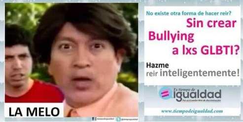 Campaña hazme reir inteligente mente David Reinoso - la Melo - Tiempo de Igualdad - Asociación SIlueta X
