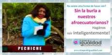 Campaña hazme reir inteligente mente David Reinoso - Pechiche - Tiempo de Igualdad - Asociación SIlueta X