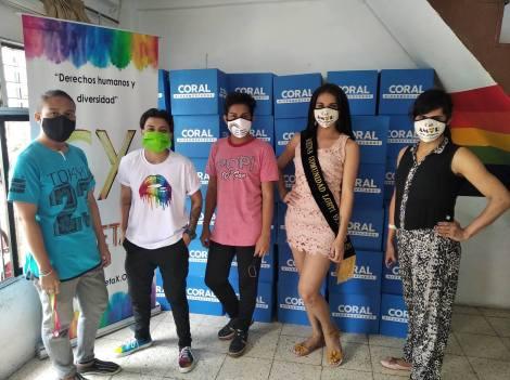Inauguración del Primer Comedor Comunitario Trans en Guayaquil - Ecuador iniciativa de la Asociación Silueta X (20)