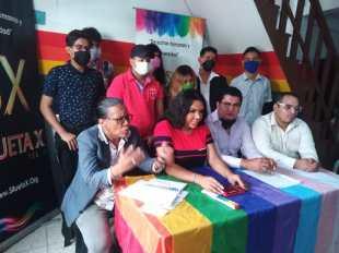 Rueda de Prensa - ACCIÓN DE PROTECCIÓN CONTRA EL CONSEJO PARA LA IGUALDAD DE GÉNERO PARA LA CONFORMACIÓN DEL CONSEJO CONSULTIVO LGBTI - Asociación Silueta X - Campaña Tiempo de Igualdad (9)